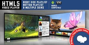 Visual Composer Addon – HTML5 Video Player for WPBakery Page…