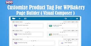 Woocommerce Customize Product Tag for WPBakery Page Builder …