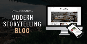 Everly Blog – A Responsive WordPress Blog Theme