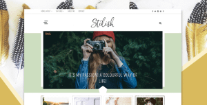 Stilish – Responsive WordPress Blog Theme