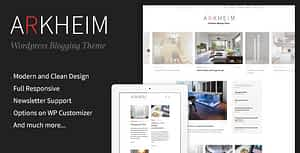 Arkheim – WordPress Blog Theme