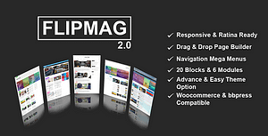 Flip Mag – Viral WordPress News Magazine/Blog Theme