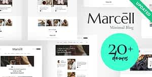 Marcell | 20+ Layouts Multi-Concept Personal Blog & Magazine…