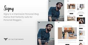 Signy – A Personal Blog WordPress Theme