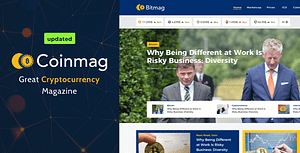 Coinmag – CryptoCurrency Blog WordPress Theme