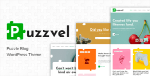Puzzvel – Puzzle Blog WordPress Theme