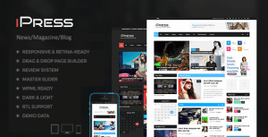 iPress – Blog/Magzine/News WordPress Theme