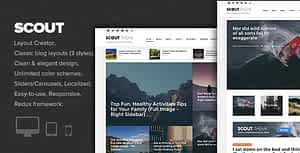 Scout – Adventure / Activity Blog WordPress Theme