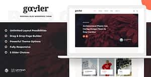 Gooder – Modern Blog WordPress Theme