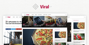 ViralWP –  Buzz News & Blog WordPress Theme