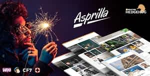 Asprilla – a Multi-Concept Blog Theme For WordPress