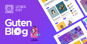 Gutenblog – Modern Blog WordPress Theme