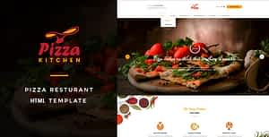 Pizza Kitchen – Fast Food HTML Template