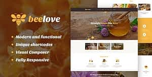 Beelove | Honey Production and Sweets Online Store WordPress…