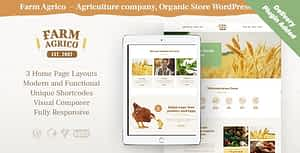 Farm Agrico | Agricultural Business & Organic Food WordPress…