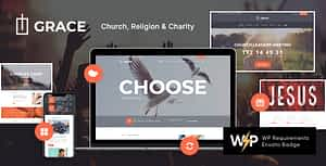 Grace – Church, Religion & Charity WordPress Theme