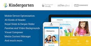 Kindergarten | Day Care & Children School Education WordPres…