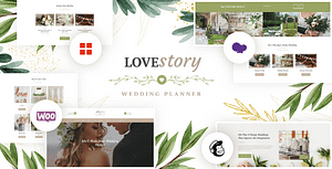 Love Story | A Beautiful Wedding and Event Planner WordPress…