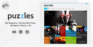 Puzzles | WP Magazine / Review with Store WordPress Theme + …