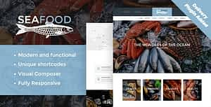 Seafood Company & Fish Restaurant WordPress Theme