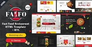 Fafo – Fast Food & Restaurant HTML Template