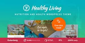 Healthy Living – Nutrition and Wellness WordPress Theme