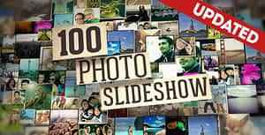 100 Photo Slideshow | After Effects Project