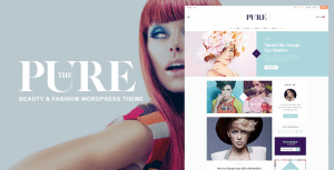 Pure – Fashion and Lifestyle WordPress Theme for Blogging