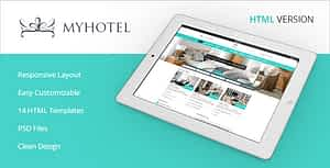 My Hotel – Online Booking Template