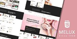 Melux – Jewelry HTML Template