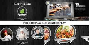 New Restaurant Presentation II   After Effects Project