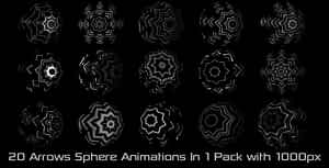 Arrows Sphere Elements Pack 01 | After Effects Project