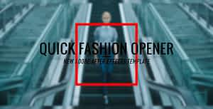 Fashion Promo Opener After Effects Project