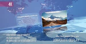 Corporate Display | After Effects Project