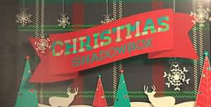Christmas Shadowbox Display | After Effects Project