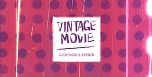 Vintage Movie — Opener & Slideshow   After Effects Project