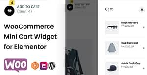 WooCommerce Mini Cart Widget for Elementor
