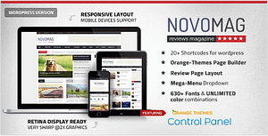 Novomag – News Magazine Theme