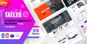 TAELED – Creative Agency HTML Template