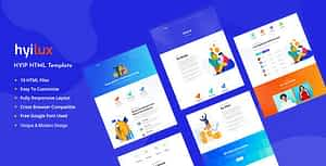 Hyilux – Investment Business HTML Template