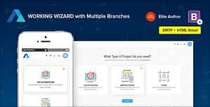 Steps | Multipurpose Working Wizard with Branches