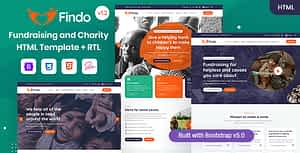 Findo – Fundraising & Charity HTML Template