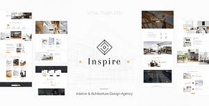 Inspire – Interior and Architecture HTML Template