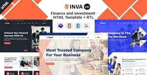 Inva – Finance & Investment HTML Template