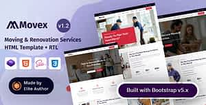 Movex – Moving & Renovation Services HTML Template