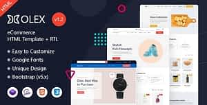 Olex – eCommerce HTML Template