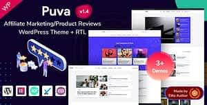 Puva – Affiliate Product Reviews WordPress Theme