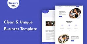 Xzomark – Corporate Business HTML Template
