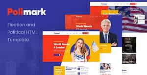 Polimark – Election and Political HTML Template