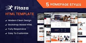 Fitaza – Fitness HTML Template